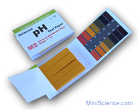 pH indicator paper book (pH: 1-14) New version